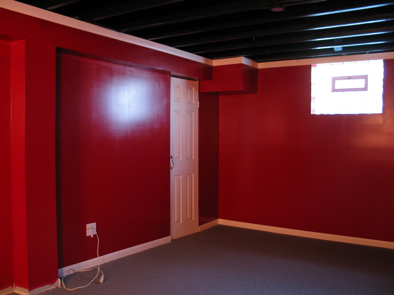 Painting Basement Ceiling - DoItYourself.com Community Forums