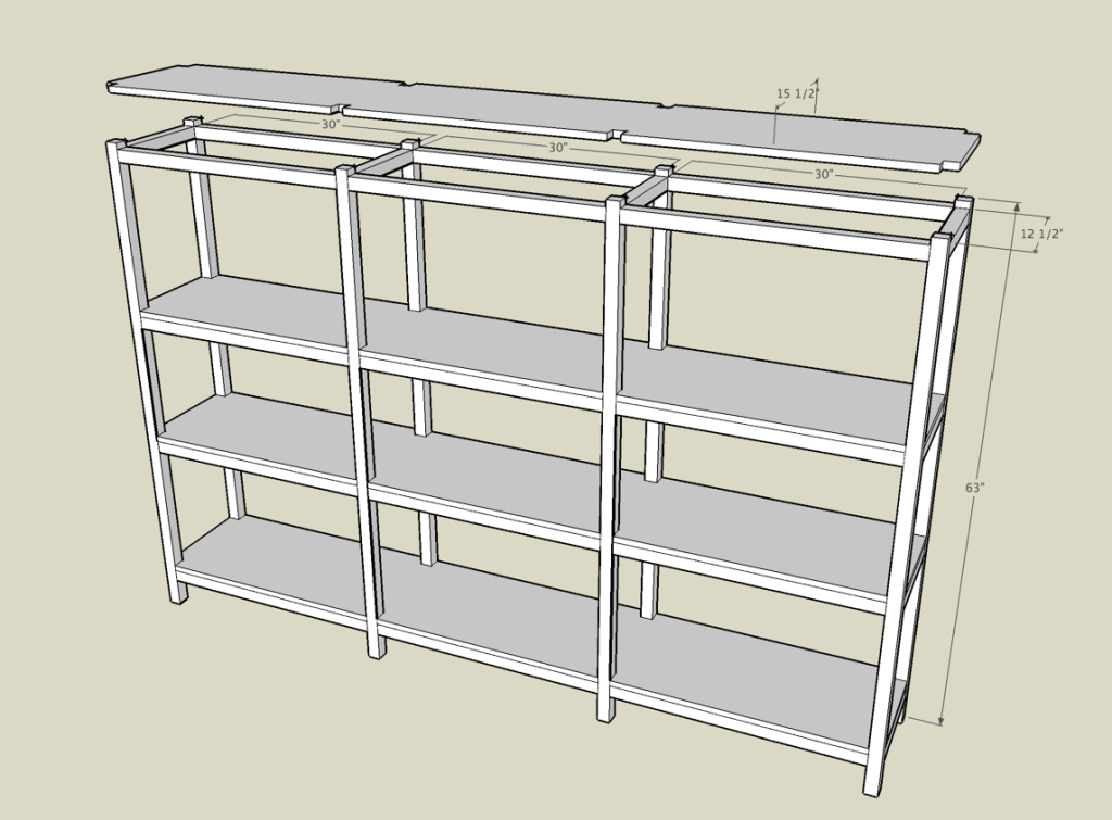 | Shelf Plans Build a simple mission-style wall shelf. Build Storage ...