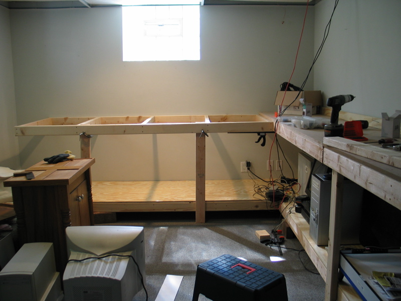 basement workbench