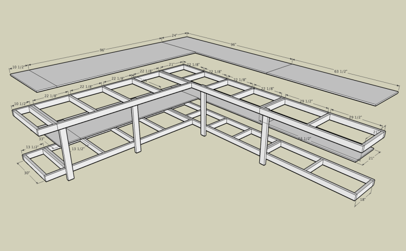Garage Table Plans